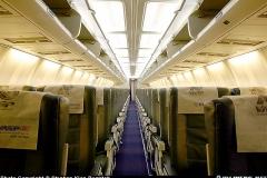 CABINE DE PASSAGEIROS DO VASP 737-300
